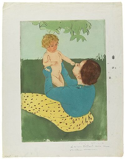 Mary Cassatt, 'Under The Horse-Chestnut Tree', 1896-1897