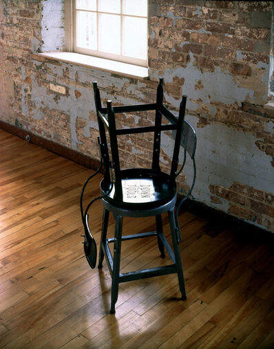 Mona Hatoum, 'Sprague Chairs (DOWN TOOLS)', 2001