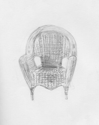 Jaron Childs, 'Chair Where I First Heard A Nightjar', 2020