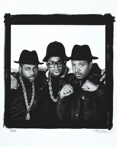 Janette Beckman, 'Legends of Hip Hop - RUN DMC, New York, 1988 (FRAMED)', 2017