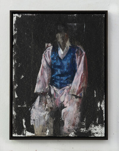Helena Parada-Kim, 'Man with the blue vest', 2020