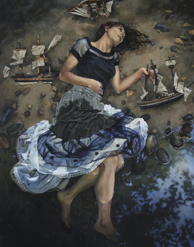 Mary Chiaramonte, 'Of A Siren's Sea Numb Hands', 2014