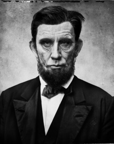 Sandro Miller, 'Alexander Gardner - Abraham Lincoln (1863)', 2017