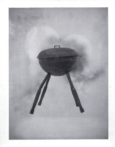 Robert Therrien, 'No title (running barbecue)', 1993