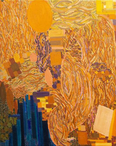 Lynne Drexler, 'Plumed Yellow', 1968