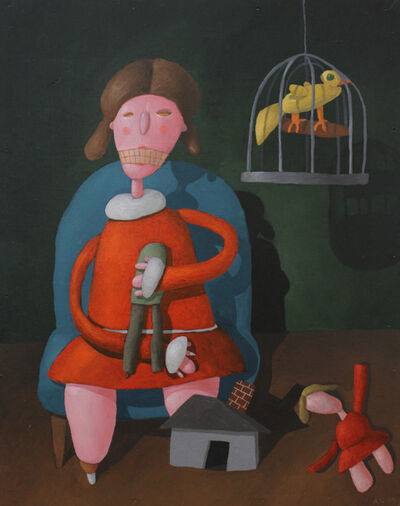 Alan Gerson, 'Girl with Doll', 1995