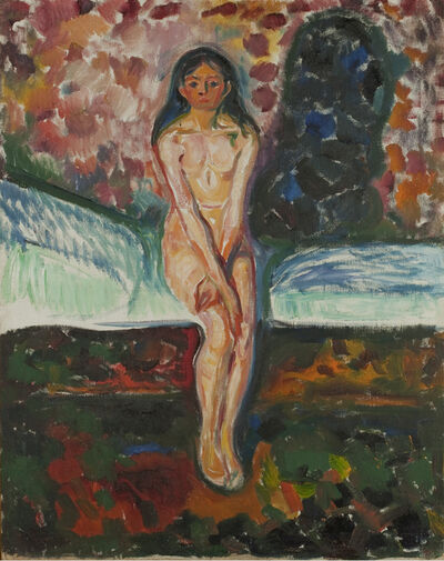 Edvard Munch, 'Puberty', 1914-1916