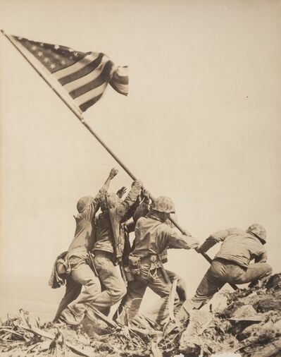 Joe Rosenthal, 'Raising the Flag on Mt. Suribachi, Iwo Jima', 1945