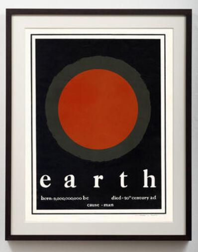 Thomas W. Benton, 'Earth - Born and Died', 1970