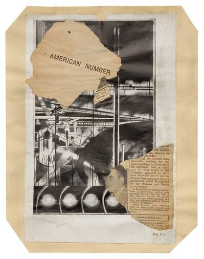 Joseph Stella, 'Macchina Naturale #18', ca. 1938