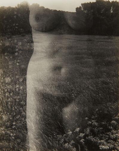 Harry Callahan, 'Aix-en-Provence (Nude, Front)', 1958