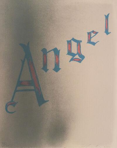 Ed Ruscha, 'Angel ', 2006