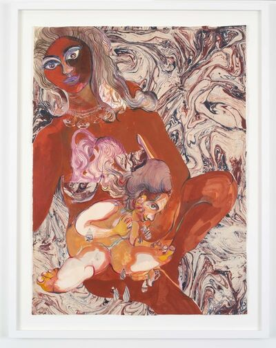Rina Banerjee, 'Kiss me at birth everything is going to be better now... not forever, no contract, no promises can sever birth mother forever.', 2018