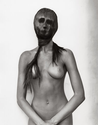 Herb Ritts, 'Mask, Hollywood (c)', 1989