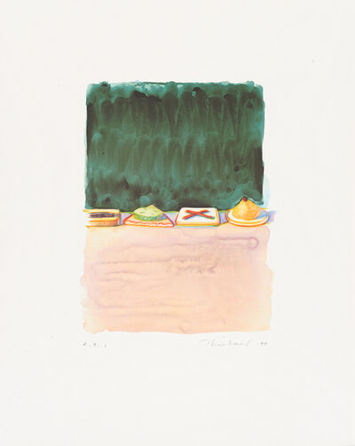 Wayne Thiebaud, 'Hors d'Oeuvres', 1994