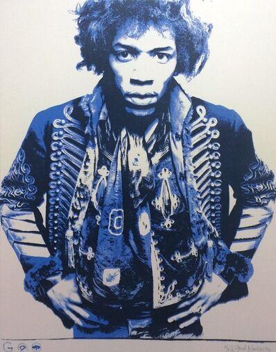 Gered Mankowitz, 'Jimi Hendrix: Blue'