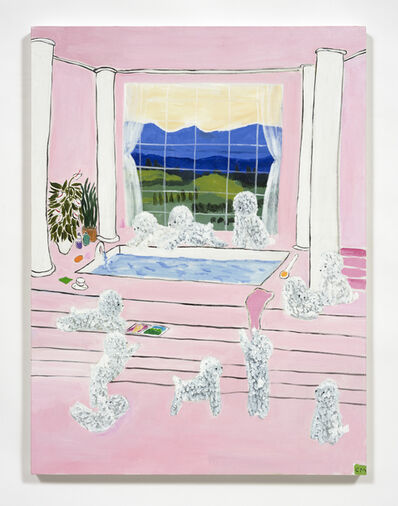 Claire Milbrath, 'Sweeties Waiting', 2020