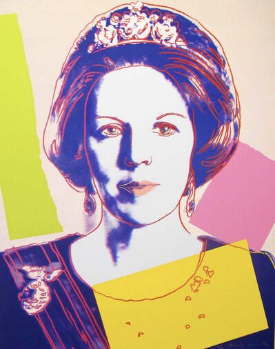 Andy Warhol, 'Queen Beatrix Of The Netherlands II.340', 1985