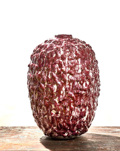 Morten Løbner Espersen, 'Blood Moon Jar #2', 2015