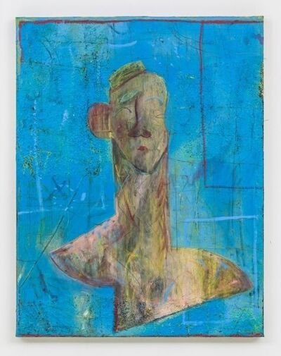 Volker Hüller, 'Einer von Euch (in blau)', 2015