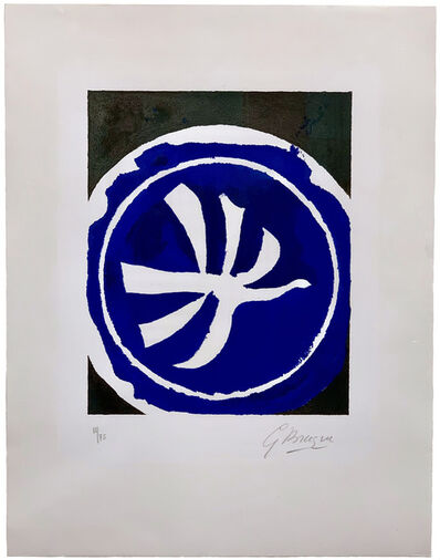Georges Braque, 'L'Oiseau blanc ', 1961
