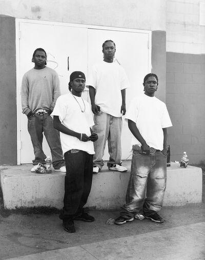 Dana Lixenberg, 'Fresh, Real, Flave, and 4 Doe (Real Fresh Crew)', 2008