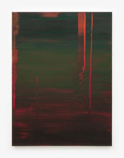 Wanda Koop, 'Reflect (Burnt Sienna, Deep Green)', 2018
