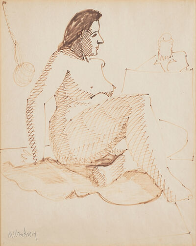 Milton Avery, 'Untitled (Sitting Nude)'