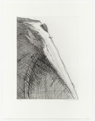 Wayne Thiebaud, 'Heart Ridge', 2011