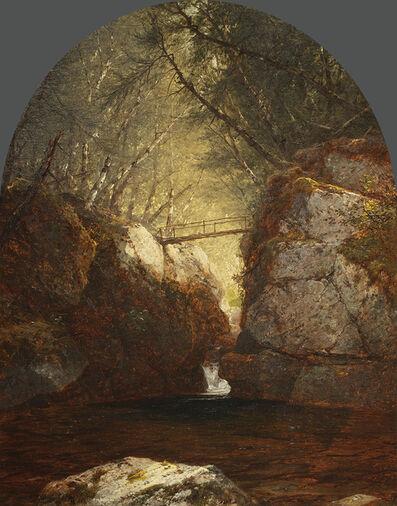 John Frederick Kensett, 'Bash-Bish Falls', 1857