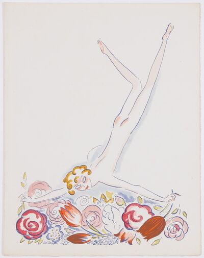 Kees van Dongen, 'Fille au Fleurs', 1920
