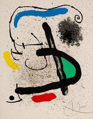Joan Miró, 'Cahier d'Ombres', 1971