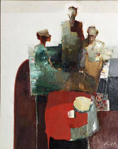 Danny McCaw, 'Red Table III'