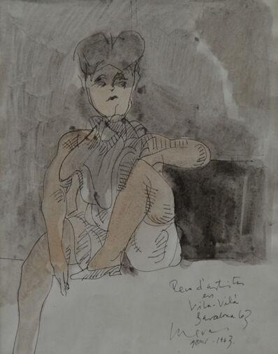 Jose Luis Cuevas, 'Vila Vila', 1963