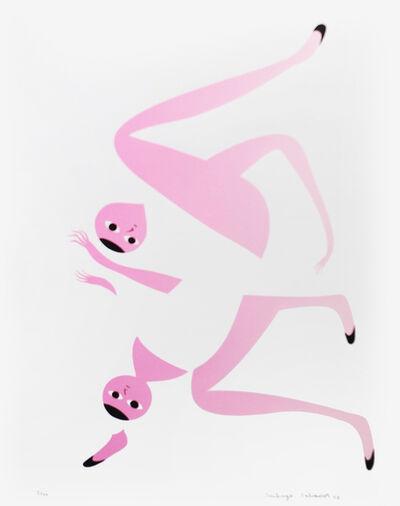 Santiago Salvador Ascui, 'Serigrafia Intervenida Pink 3 (Shoes Off Variable Print)', 2018