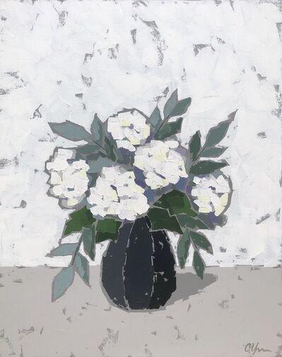 Christie Younger, 'Hydrangea in Black Vase II', 2017