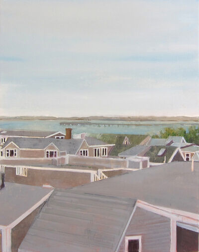 Daniel Bodner, 'West End Roofs', 2017