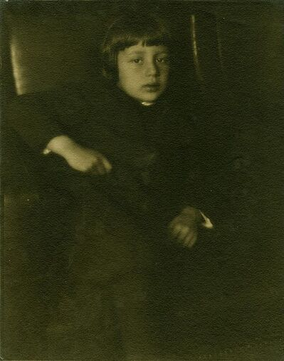 Heinrich Kühn, 'Portrait of Hans Kuhn, Artist's Son', 1906