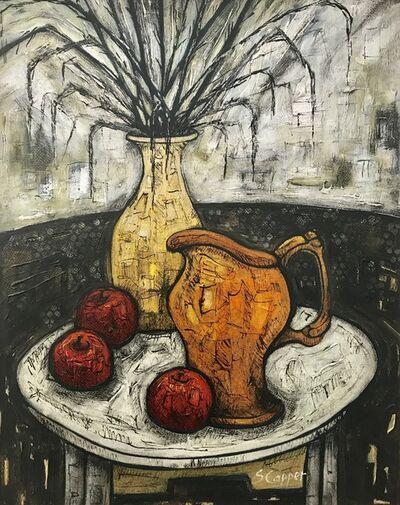 Steve Capper, 'Still Life Painting with Orange Jug & Apples', ca. 2011