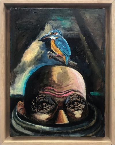Damien Deroubaix, 'Melancholia (Martin pêcheur)', 2019