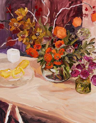 Laura Jones, 'Still life with yellow basket', 2015