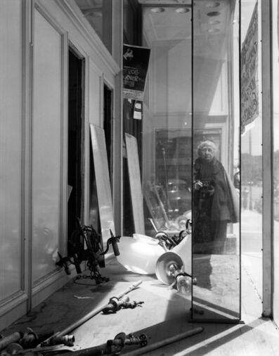 Imogen Cunningham, 'Self Portrait on Geary Street, 1958', 1990