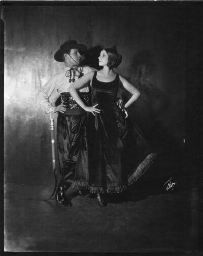 James Abbe, 'Rudolph Valentino and Natasha Rambova, New York', 1921