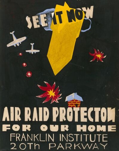 Mildred Elfman Greenberg, 'Air Raid Protection For Our Home', 1940-1941