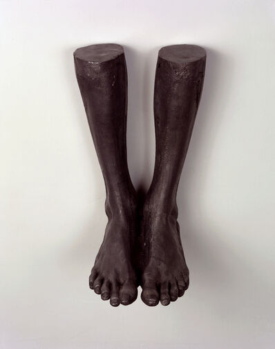 Tim Hawkinson, 'Self-Portrait (Height Determined by Weight)', 1990