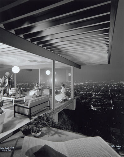 Julius Shulman, 'Case Study House #22, Los Angeles, CA, Pierre Koenig Architect', 1960