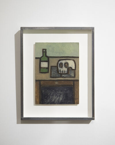 William Wright, 'Bottle, Skull and Book', 2007-2020