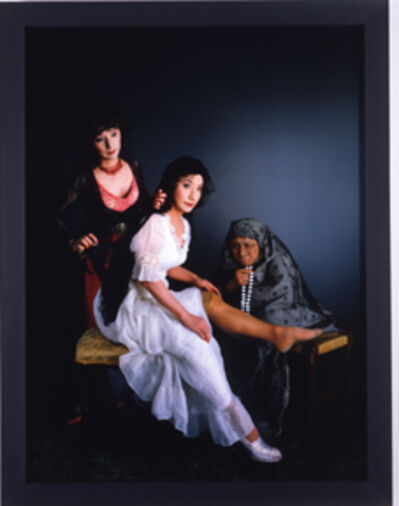 Yasumasa Morimura, 'Three women, three minds', 2004