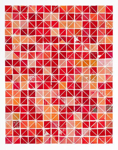 Robert Larson, 'Red Diamonds (Large)', 2009