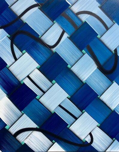 Daniel Byrd, 'Blue Weave', 2019